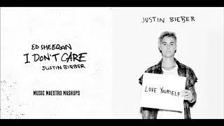 I Don't Care/Love Yourself [Mashup] - Justin Bieber & Ed Sheeran