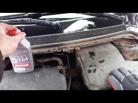 Как залить тормозную жидкость форд фокус