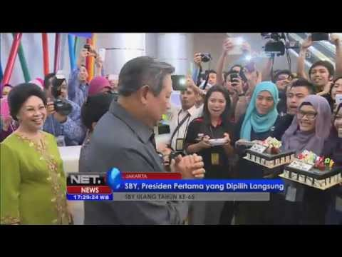 Presiden SBY Ulang Tahun Wartawan Beri Kejutan - NET17