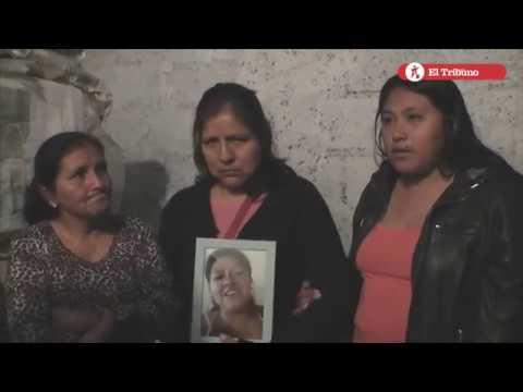 Femicidio. Testimonio de los familiares de Angelina Cayo