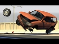 High Speed Rollover Crashes - BeamNG DRIVE EP4