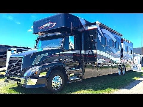 Extreme RV 45 Foot Super C Garage Unit & Renegade Trailer