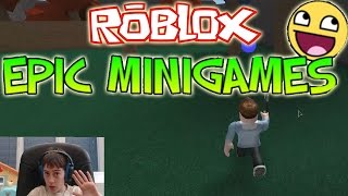 Roblox Epic Minigames Ep 1 - Family Gaming Channel