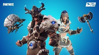 THE NEW FYRA SKIN IS SICK-Fortnite Daily Reset