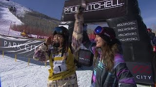 Chloe Kim's Historic Perfect Score - U.S. Snowboarding Grand Prix 2016