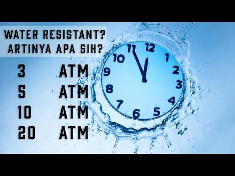 Apa Arti Atm Bar Pada Jam Tangan Penjelasan Water Resistant Pada Jam Tangan