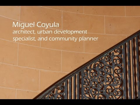 Miguel Coyula - architect, urban development specialist, and community planner - part 1 of 2