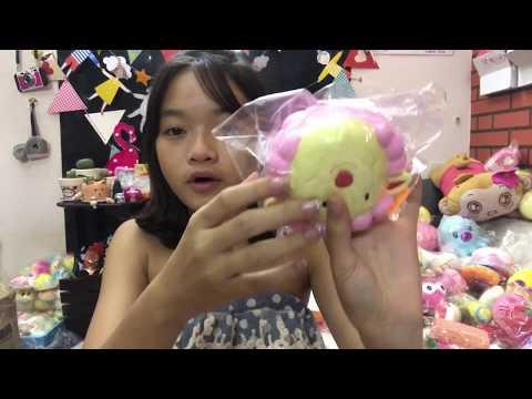 Bưu Phầm Squishy Khủng Bố Của Bạn Linh Ri/bông❤️🌺🌸| Hãy Subscribe Kênh Linh Hoa Channel Nhé