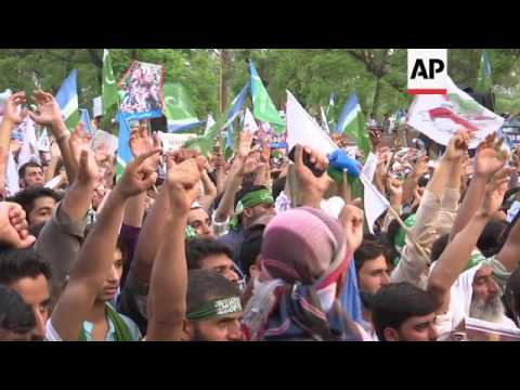 Pakistan protest over Indian actions in Kashmir
