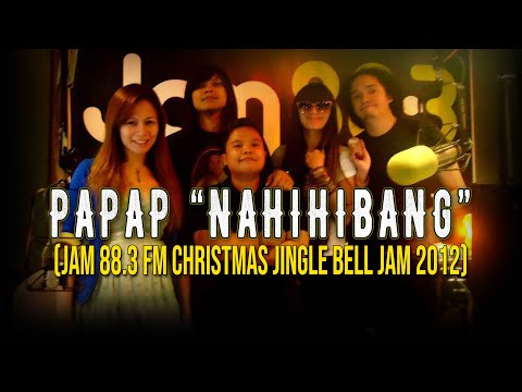 Milky Summer-Nahihibang (Papap) @ Jam 88.3 Fm (Christmas Jingle Bell Jam) 12/19/12