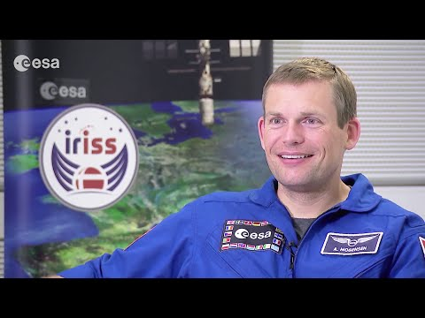 Interview with Andreas after landing