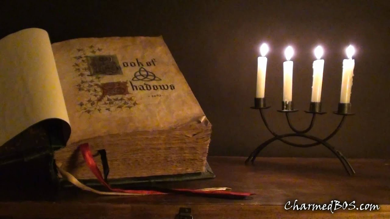 how to make the charmed book of shadows