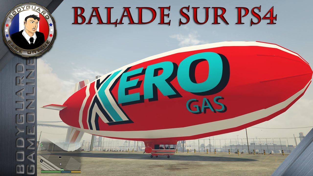 ballon dirigeable gta 5 online