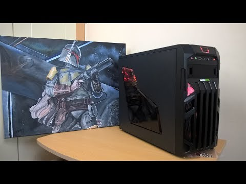 Budget Quad Core Gaming PC Build - Time Lapse Build