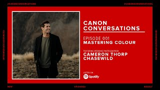 Welcome to the very first episode of canon conversations!on today's show we're talking with wedding photographer cameron thorp from chasewild about all thing...