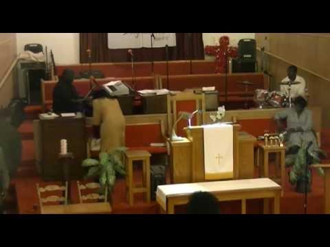 Evangelist Sarah Reese 100 year sermon at St. Matthew Missionary