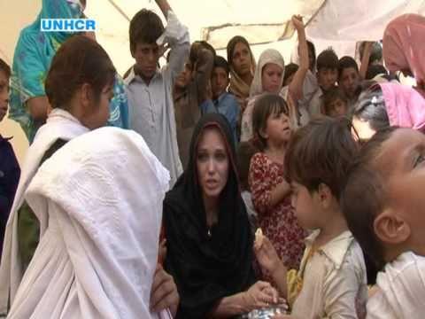 Angelina Jolie's Pakistan Visit