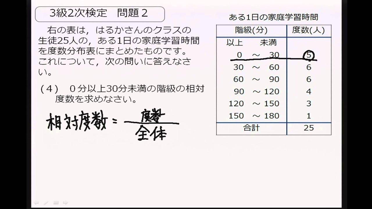 過去 級 問 4 検 数