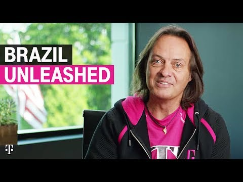 T-Mobile CEO John Legere unleashes Brazil this summer!