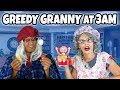 We play DESCENDANTS 3 Evie and Jay GREEDY GRANNY AT 3AM Challenge. (What Happens?)