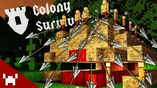 THE GREAT MASSACRE! (Colony Survival w/ Ze, Chilled, GaLm, & Tom #4)