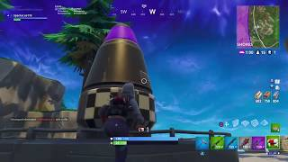 Fortnite: New Area The Villains Mansion! Nuclear Rocket!! Next Season Leaked?