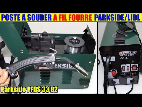 À Fourré Flux Cored Wire Pfds 33 Poste Fil Souder Parkside Lidl QdrstxhC