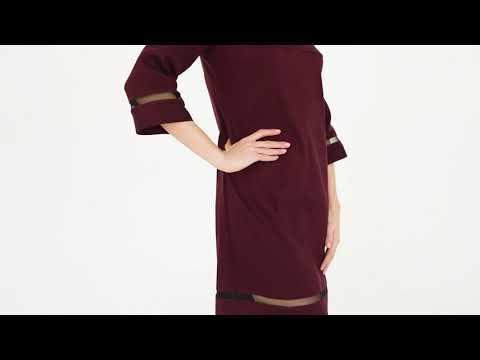 Классическое платье прямого силуэта, RM1917
