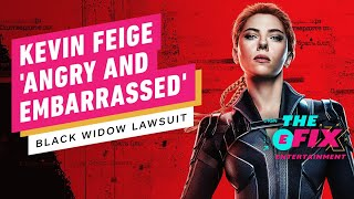 Kevin Feige Reacts to Scarlett Johansson's Black Widow Lawsuit - IGN The Fix: Entertainment