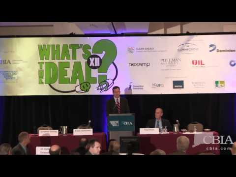 Gov. Dannel Malloy at 'What's the Deal' Energy Conference
