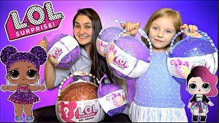 EASTER VLOG and SURPRISE TOYS! FAMILY FUN and FAILS! GIANT LOL BALL! The TOYTASTIC Sisters