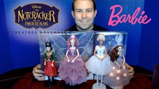 "Disney ""The Nutcracker and the Four Realms"" Barbie Signature Unboxing Review"