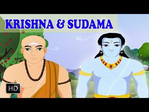 Lord Krishna Stories - Krishna and Sudama - Animated / Cartoon Stories for Children