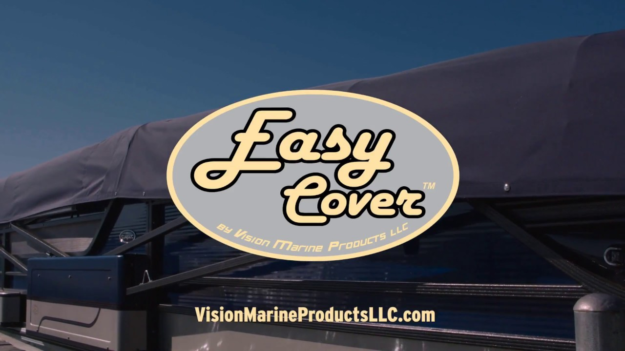 Easy Cover Automatic Pontoon Boat Cover