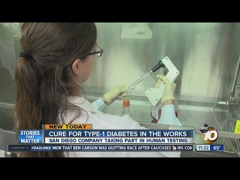 Could San Diego company hold cure for Type 1 diabetes?