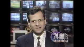 VHS Recording Of WEWS Newschannel 5 News Broadcast From 1992