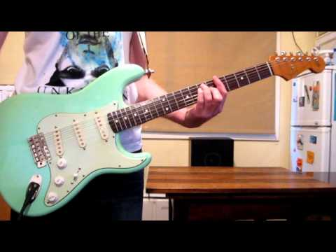 Desert Song Hillsong Electric Guitar How To Play Youtube