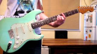 Desert Song - Hillsong - Electric Guitar - How to Play