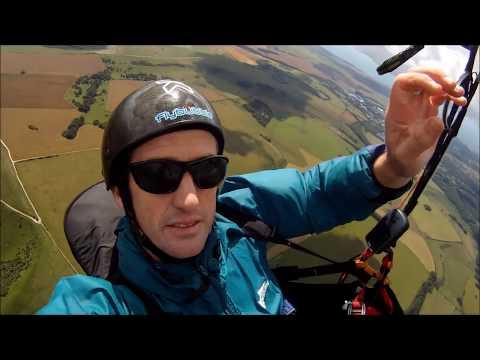 Paragliding XC Secrets: Using ridge lines on a paraglider