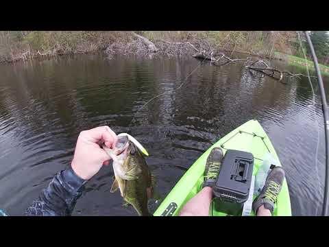 Kayak Fishing Ames Pond