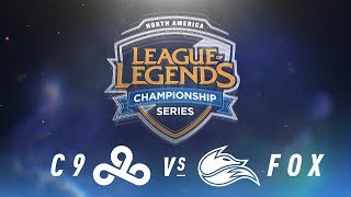 Video C9 vs. FOX - Week 2 Day 1 | NA LCS Spring Split | Cloud9 vs.Echo Fox (2018) download MP3, 3GP, MP4, WEBM, AVI, FLV Agustus 2018