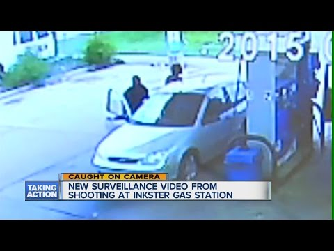 Surveillance video shows Inkster shooting