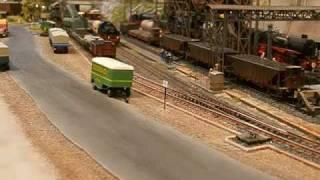 Modellbahn vom Hanullisten, Bubikopf mit Gz im BW
