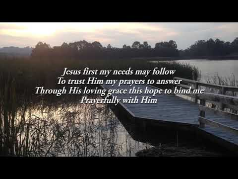Prayers Begin With Him - instrumental