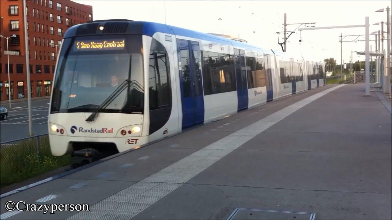RET Metro RandstadRail Type R 5503 aankomst Leidschenveen ...