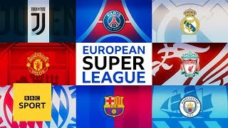 European Super League: Is it the future of football? - BBC Sport