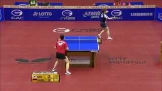 German Open 2014 Highlights: Shan Xiaona vs. Seo Hyo Won (Final)