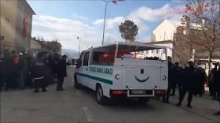 Şehit polis Fethi Sekin Cenaze Töreni 07.01.2017 Baskil / Elazığ