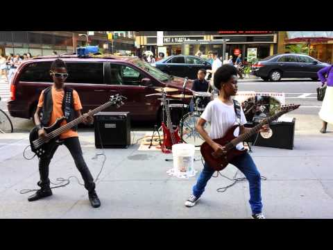 Unlocking The Truth last performance in Times SQ.   6/23/13