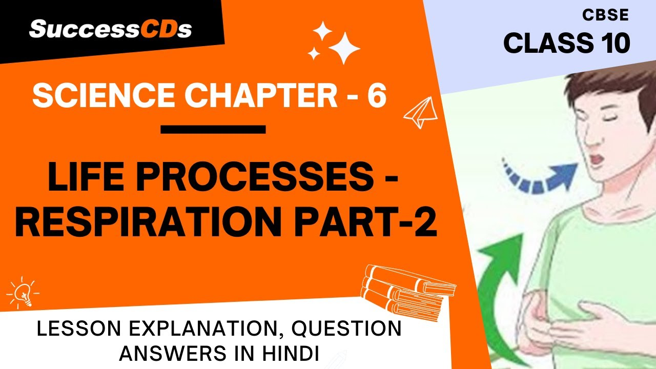 Download Life Processes Chapter 6 Part 2 Respiration, Class 10 Biology, Science Explanation, Question Answers
